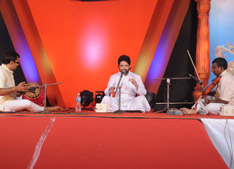 Fr. Paul Poovathingal in concert.